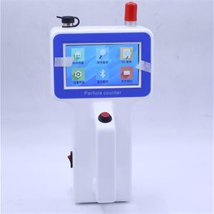 HPC-9306觸屏手持式塵埃粒子計數器(國內始發采用此設計的手持式塵埃粒子計數器)